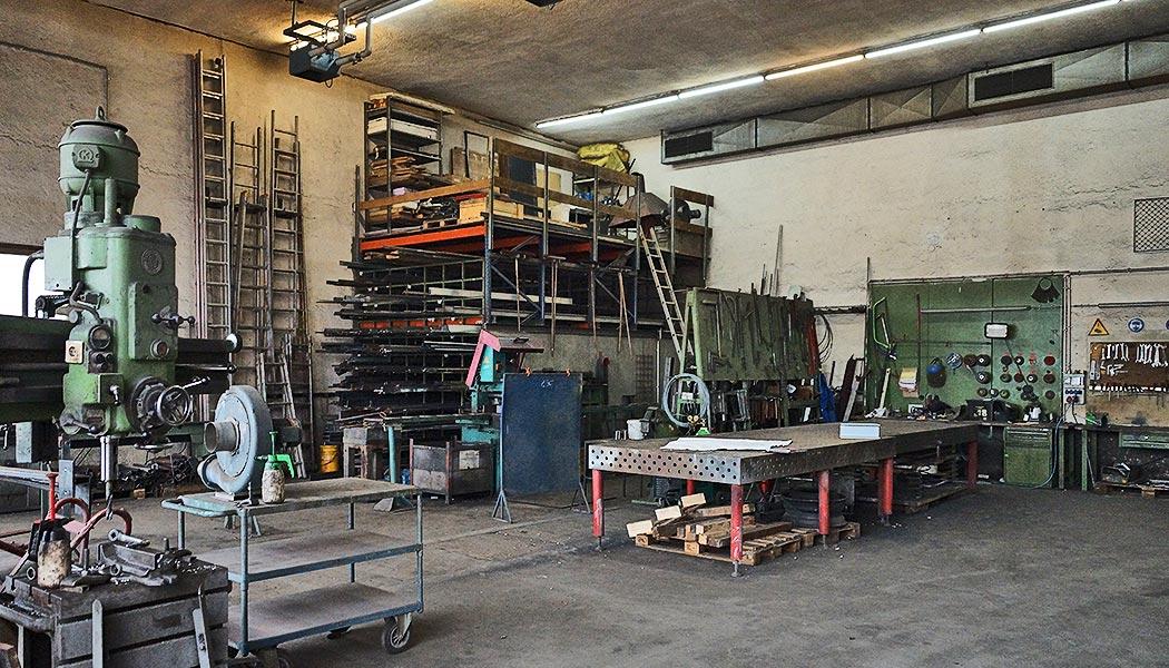 IMS Walther Fertigungs- und Montagehalle